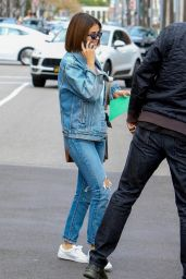 Selena Gomez Denim-On-Denim Look - Beverly Hills 03/17/2018