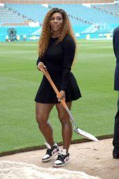 Serena Williams - Miami Open at Hard Rock Stadium Ground Breaking in Miami
