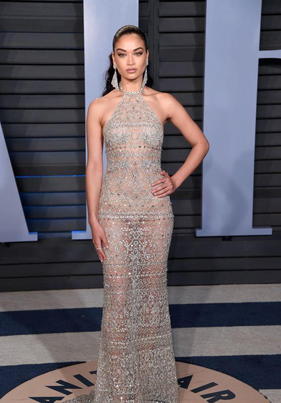 Shanina Shaik – 2018 Vanity Fair Oscar Party in Beverly Hills