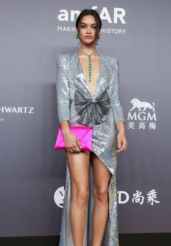 Shanina Shaik - amFAR Hong Kong Gala 2018