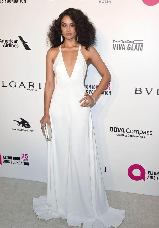 Shanina Shaik – Elton John AIDS Foundation's Oscar 2018 Viewing Party in West Hollywood
