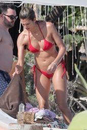 Shayna Taylor in Bikini on the Beach in Tulum