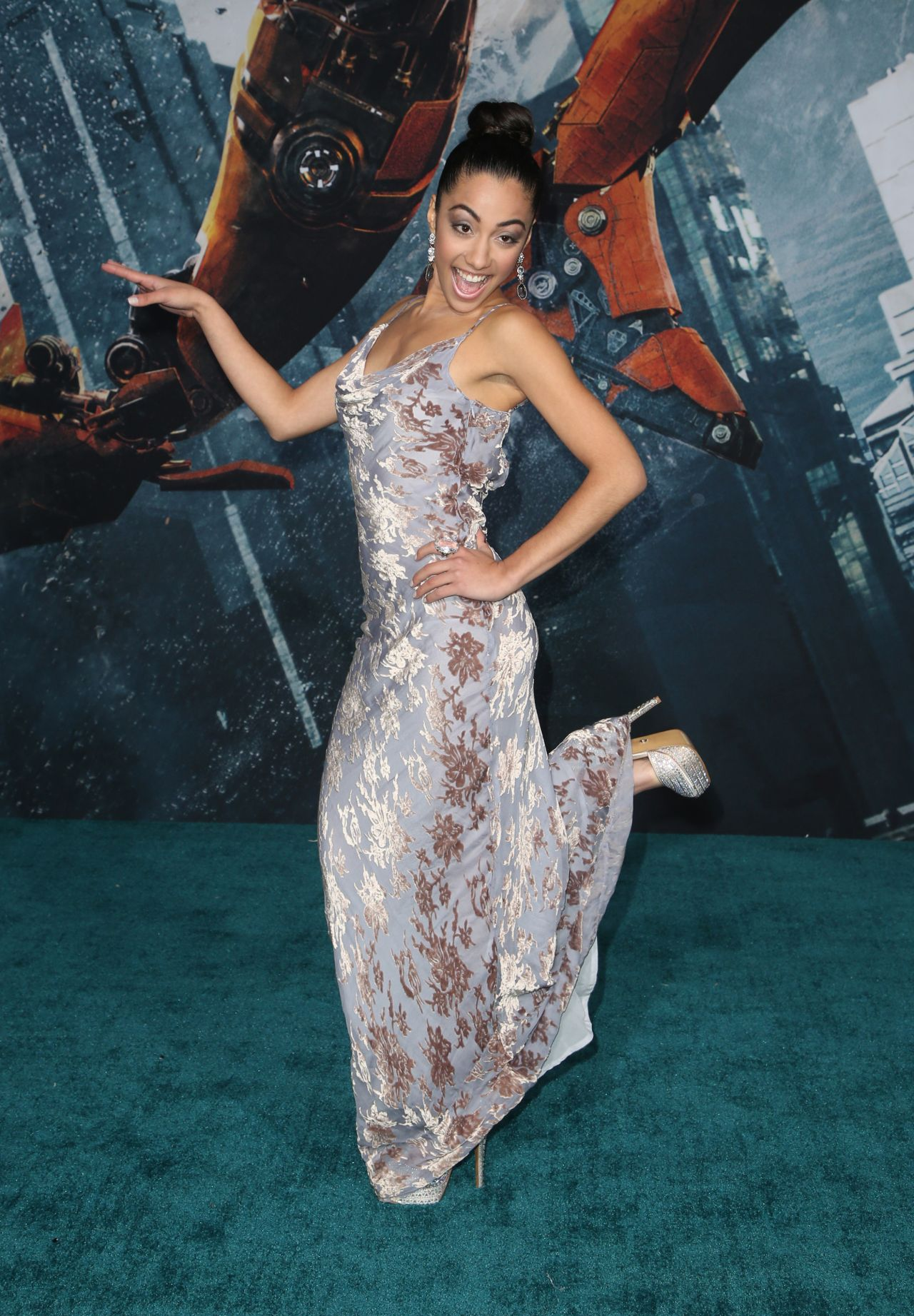Shyrley Rodriguez Pacific Rim Uprising Premiere In