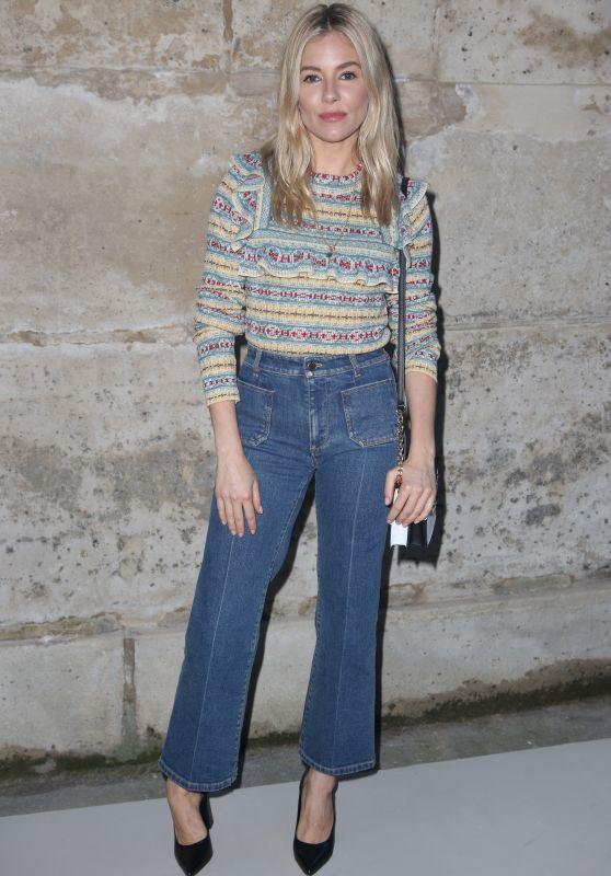 Sienna Miller – Louis Vuitton Fashion Show in Paris 03/06/2018