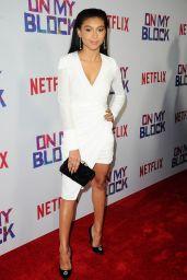 """Sierra Capri – Netflix's """"On My Block"""" Premiere in LA"""