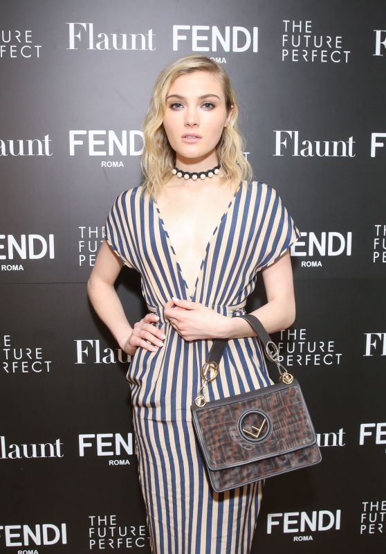 Skyler Samuels – Fendi X Flaunt Celebrate the New Fantasy Issue in LA
