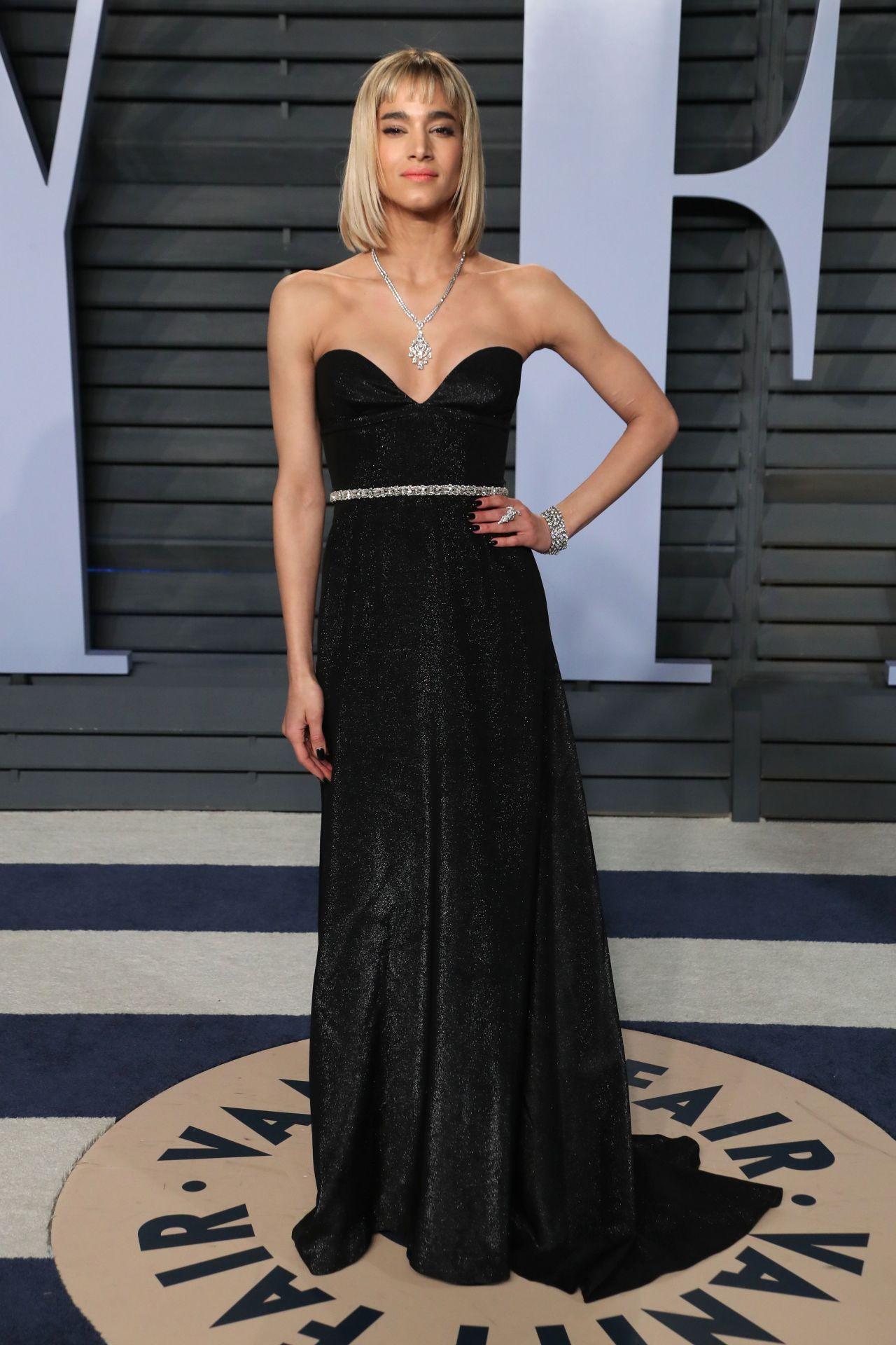 Lindsey Vonn Legs >> Sofia Boutella – 2018 Vanity Fair Oscar Party in Beverly Hills