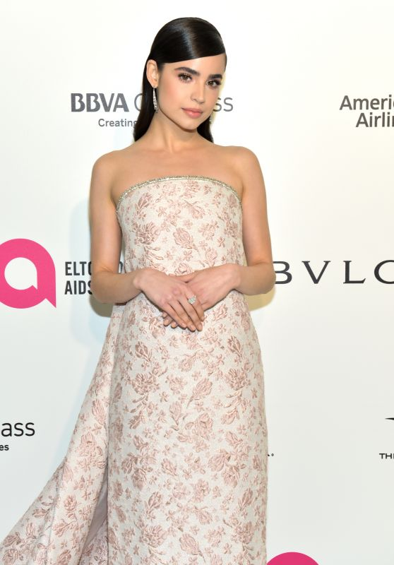 Sofia Carson – Elton John AIDS Foundation's Oscar 2018 Viewing Party in West Hollywood