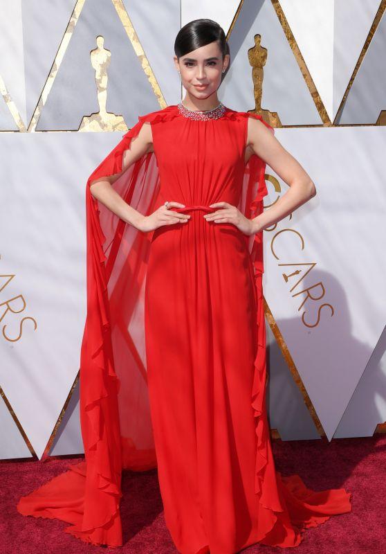 Sofia Carson – Oscars 2018 Red Carpet