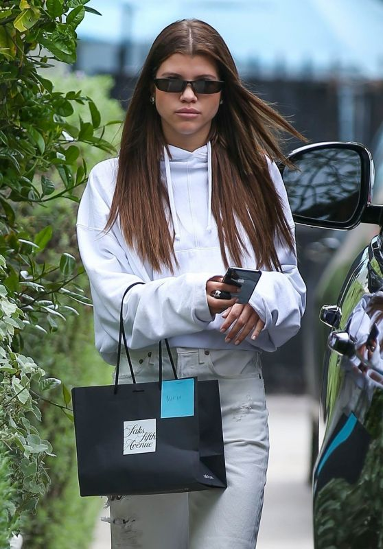 Sofia Richie Casual Style - West Hollywood 03/13/2018