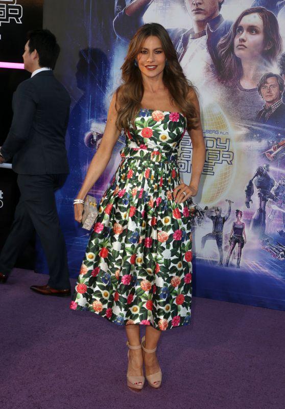 "Sofia Vergara – ""Ready Player One"" Premiere in Los Angeles"