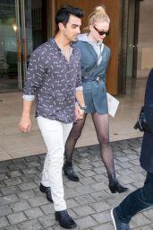 Sophie Turner and Joe Jonas - Shopping in Paris 03/05/2018