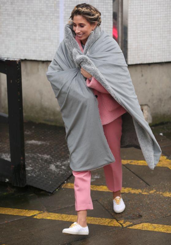 Stacey Solomon - Leaving the ITV Studios in London 03/01/2018