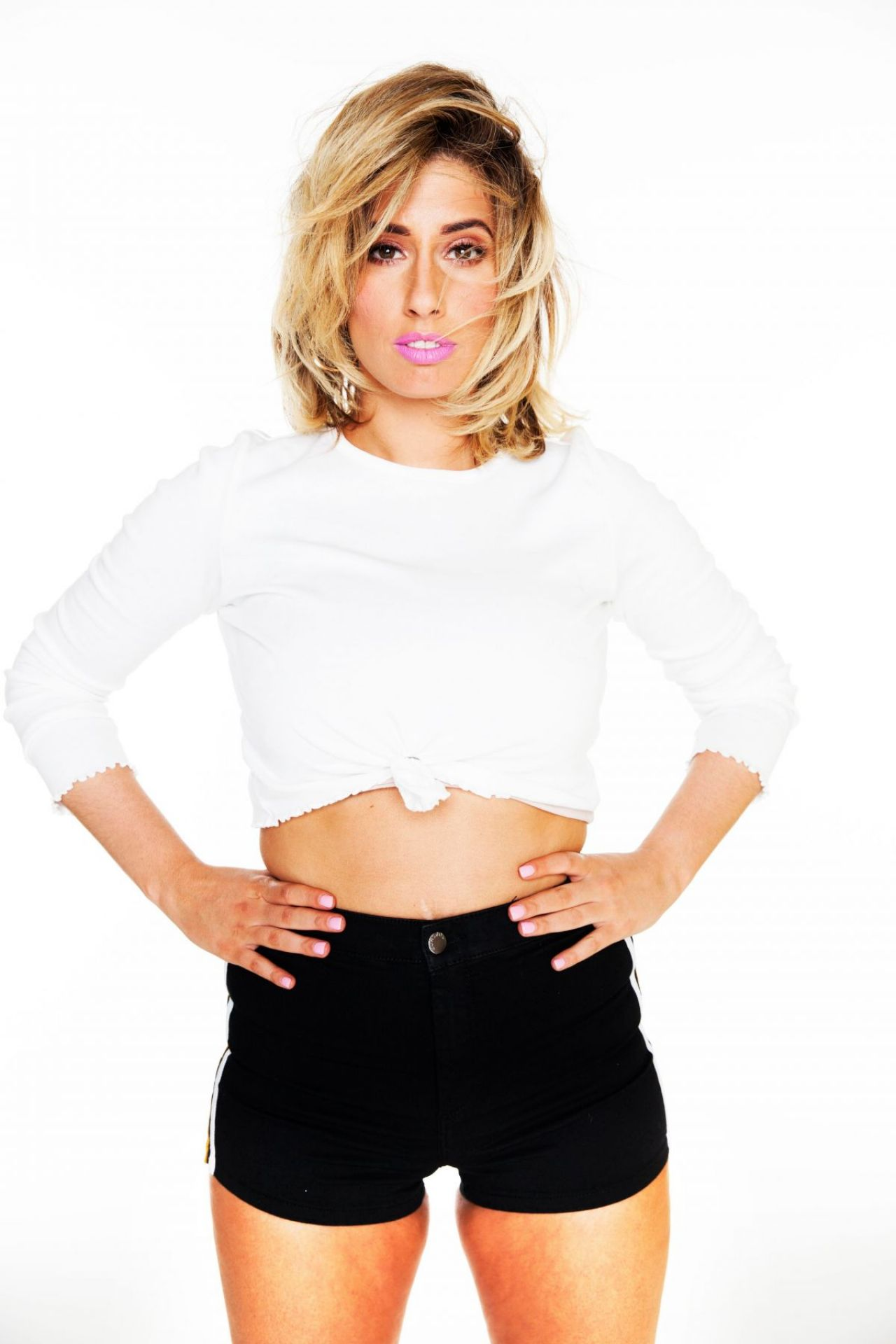 Stacey Solomon Photoshoo March 2018