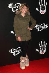"""Stacey Solomon - """"The Walking Dead Ride"""" Launch in London"""