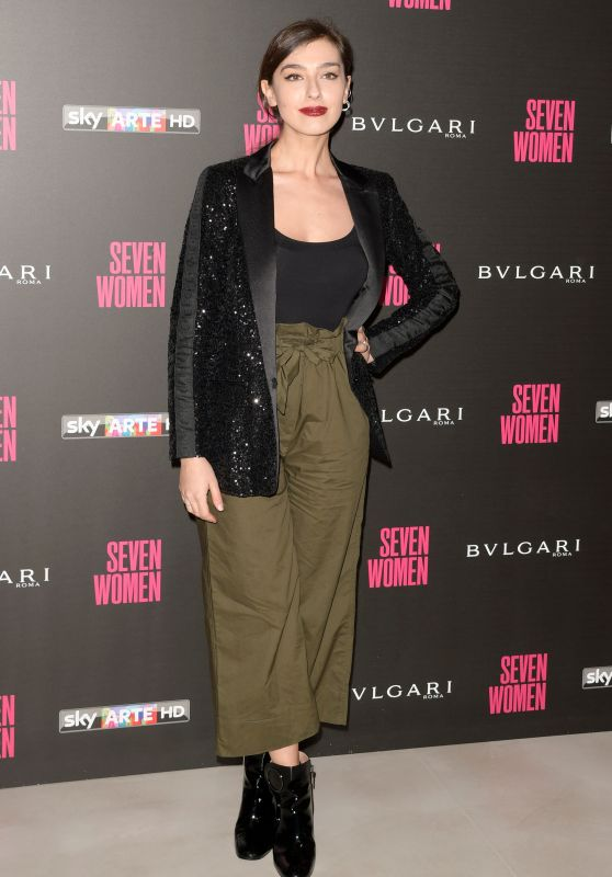 "Stella Egitto – ""Seven Women"" Docu-film Premiere in Rome"