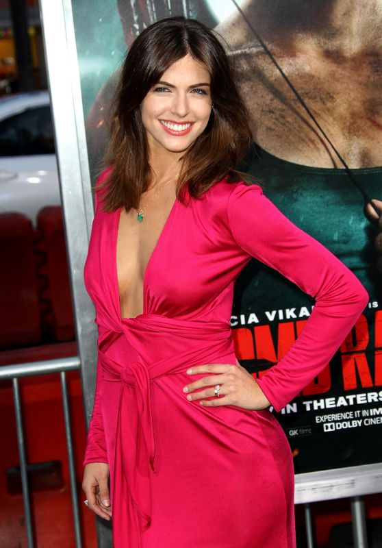 "Stephanie Cayo – ""Tomb Raider"" Premiere in Hollywood"