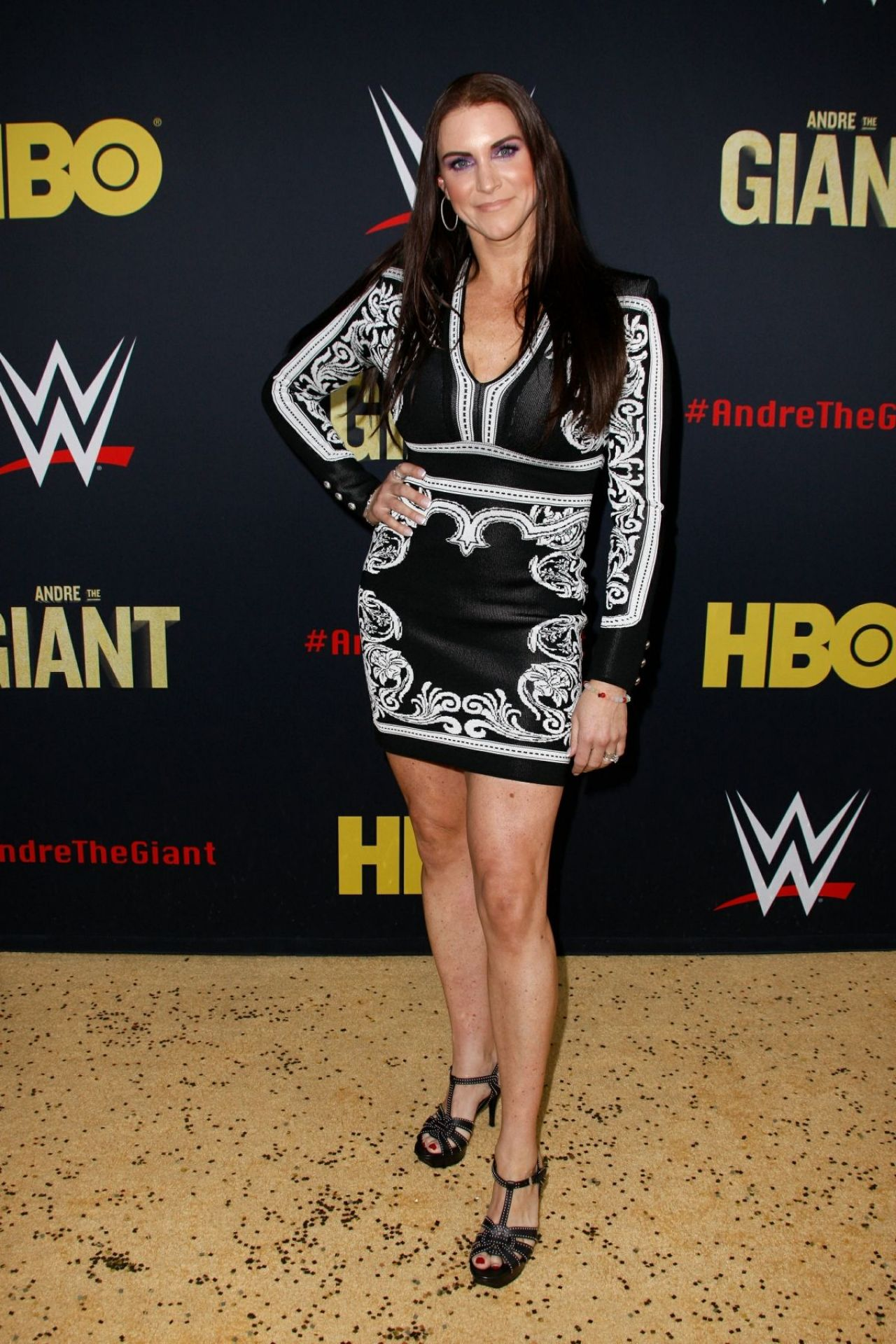 Stephanie Mcmahon Andre The Giant Premiere In Los Angeles