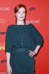 "Suzy Jane Hunt – ""The American's' TV Show Premiere in NY"