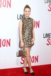 """Talitha Bateman – """"Love, Simon"""" Premiere in LA"""