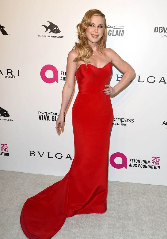 Tara Lipinski – Elton John AIDS Foundation's Oscar 2018 Viewing Party in West Hollywood