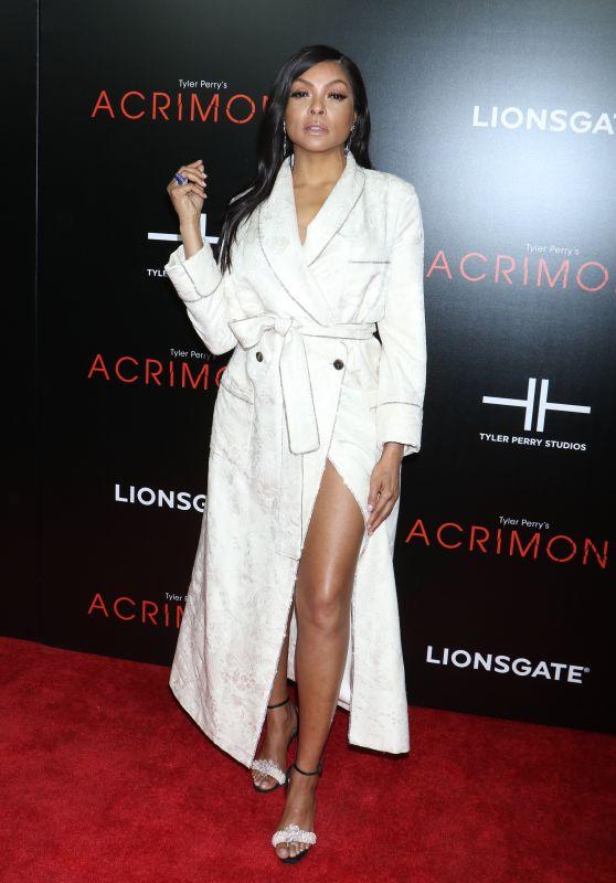"""Taraji P. Henson – """"Acrimony"""" Premiere in NY"""