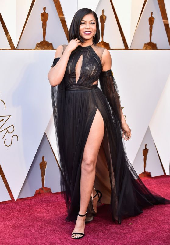 Taraji P. Henson – Oscars 2018 Red Carpet