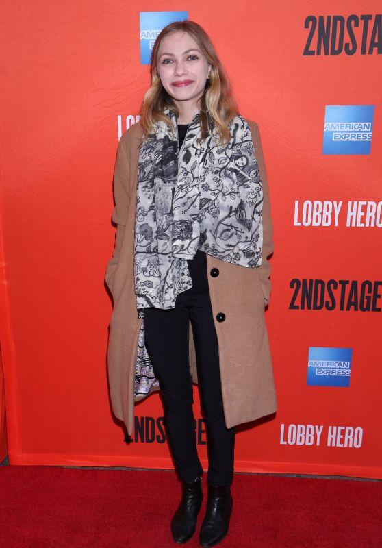 "Tavi Gevinson – ""Lobby Hero"" Broadway Play Opening Night in NYC"