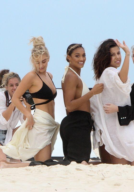 Tess Jantschek, Nonny Mulholland, Natasha Oakley, Devin Brugman and McKenna Berkley - Bikini Photoshoot in Tulum