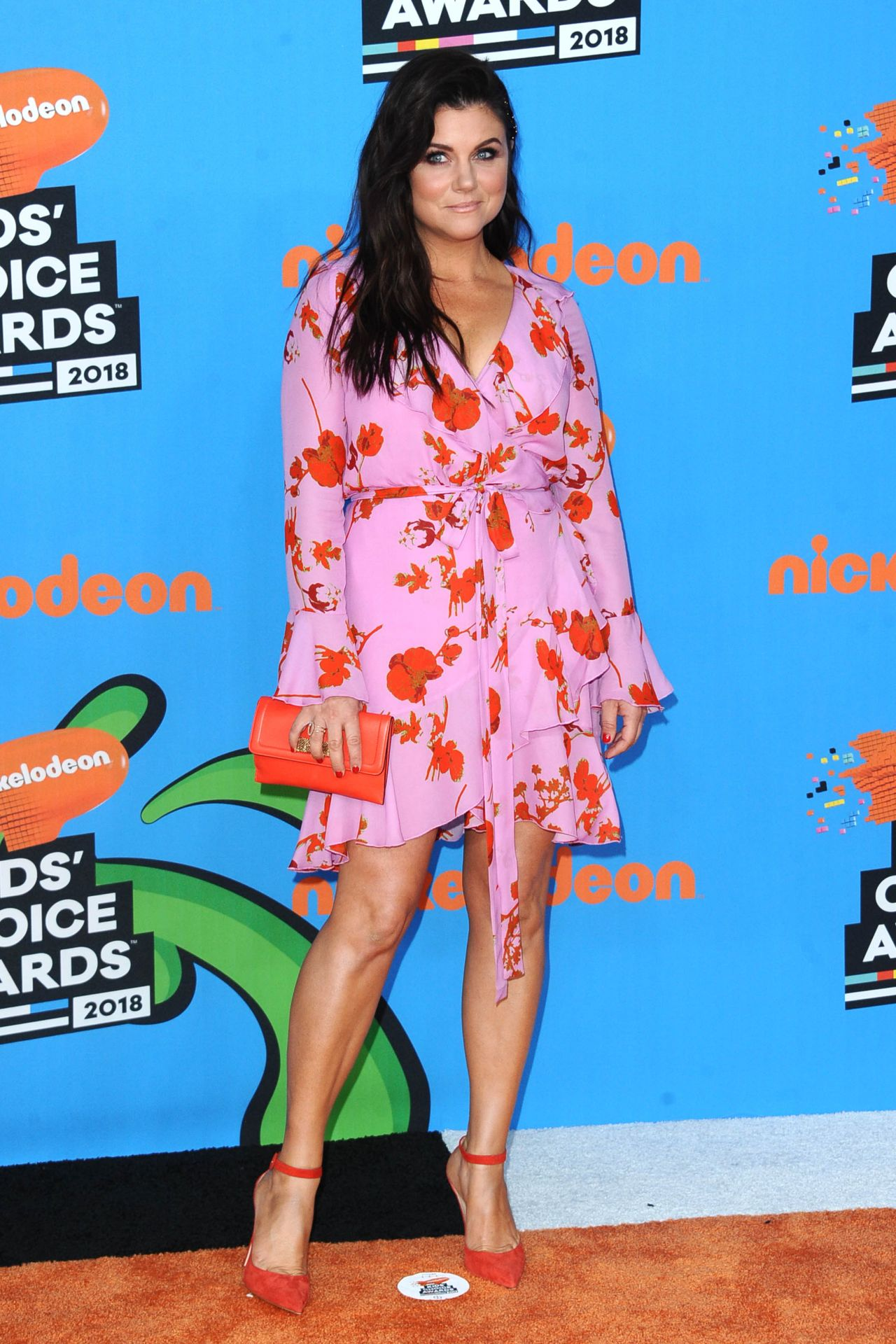 Tiffani Thiessen 2018 Nickelodeon Kids Choice Awards