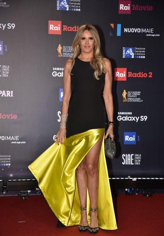 Tiziana Rocca – 2018 David di Donatello Awards in Rome