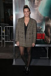 """Tove Lo – """"Tomb Raider"""" Premiere in Hollywood"""