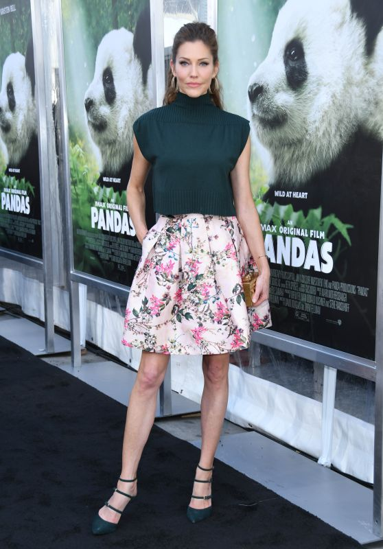 "Tricia Helfer – ""Pandas"" Premiere in Hollywood"