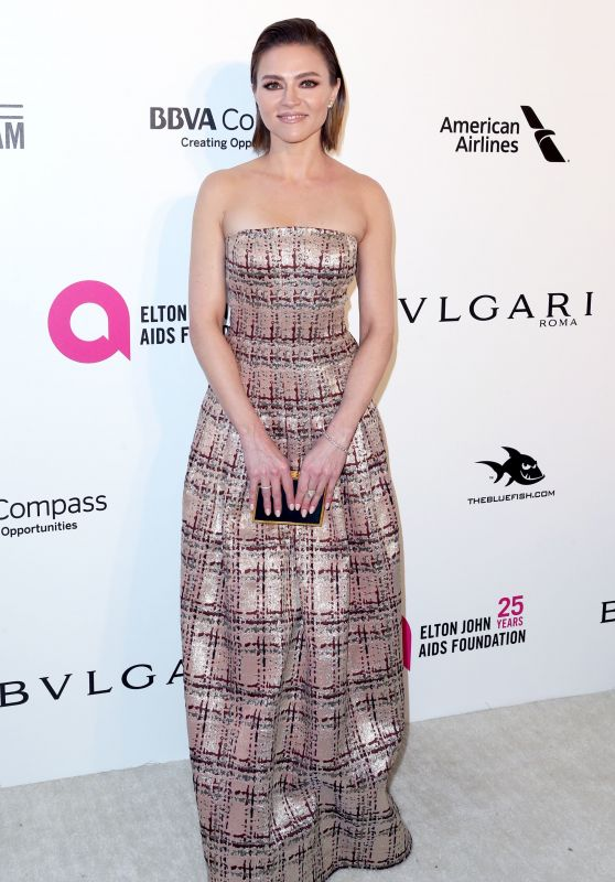 Trieste Kelly Dunn – Elton John AIDS Foundation's Oscar 2018 Viewing Party in West Hollywood