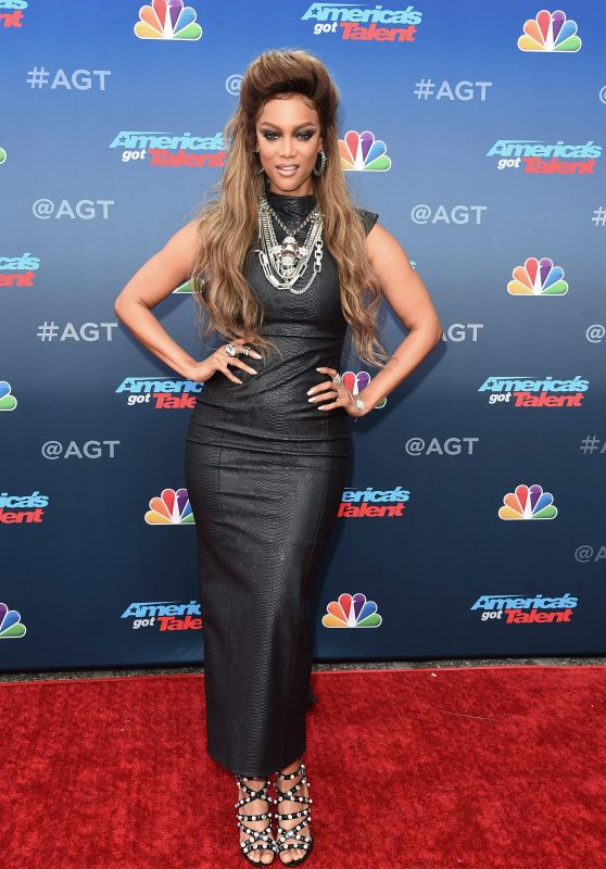 Tyra Banks – America's Got Talent Event in LA 03/12/2018