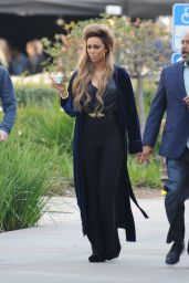 Tyra Banks at Americas Got Talent Show in Pasadena 03/18/2018