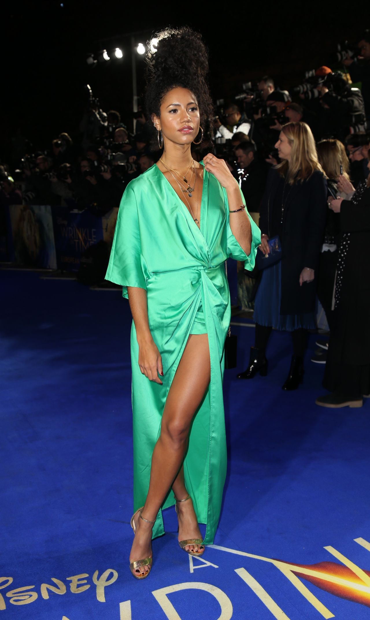 Vick Hope A Wrinkle In Time Premiere In London