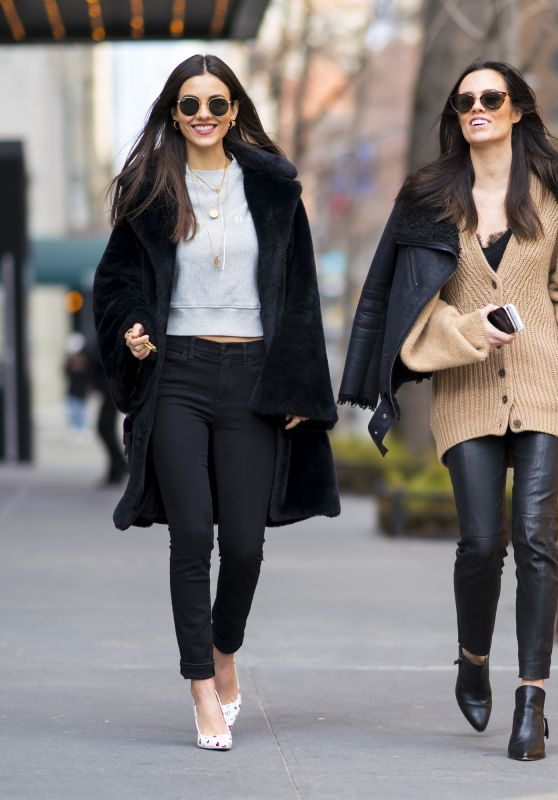 Victoria Justice and Madison Reed - Out in NYC