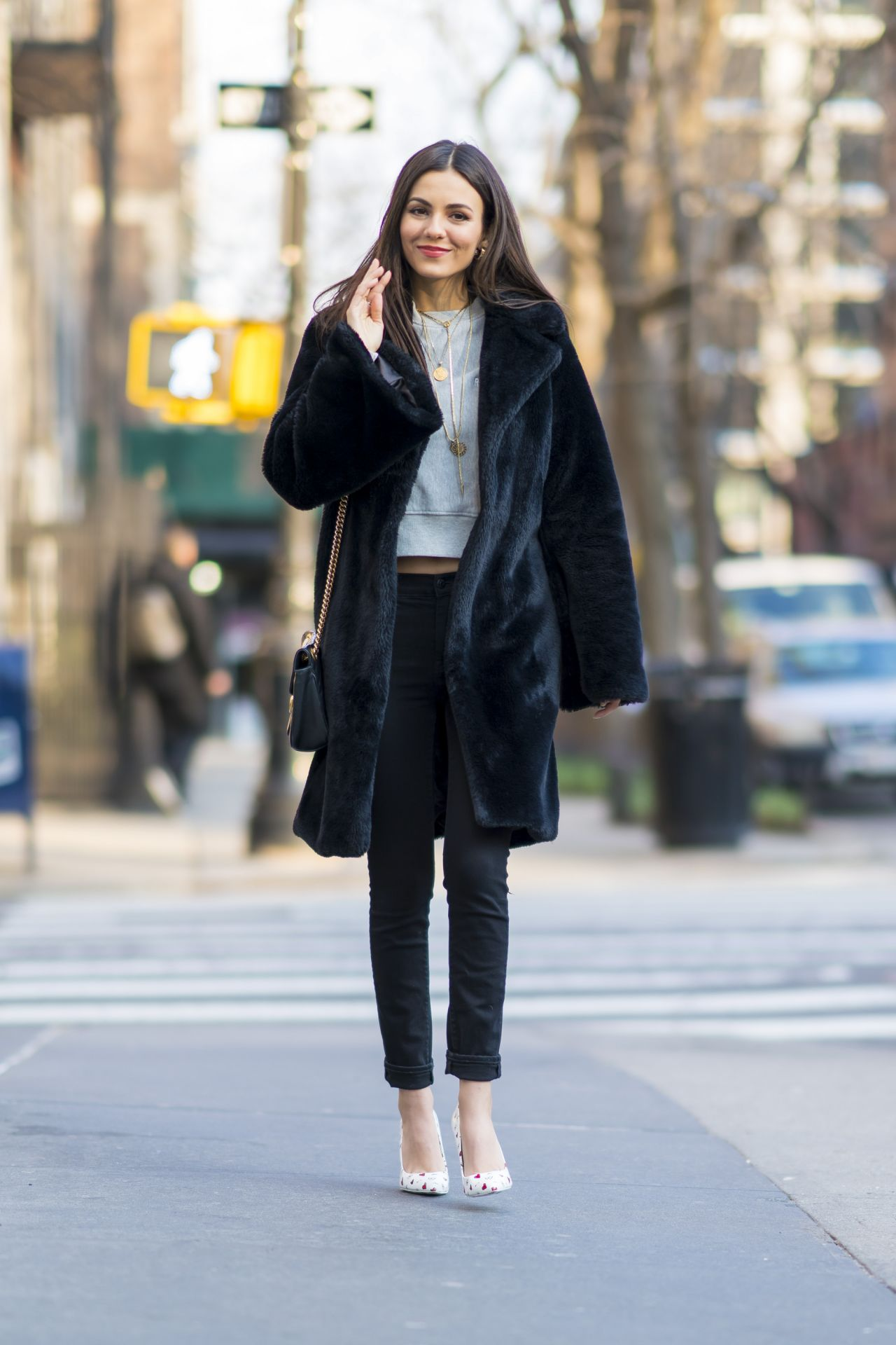 Victoria Justice Out In New York City March 2018