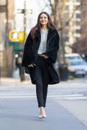 Victoria Justice - Out in New York City, March 2018