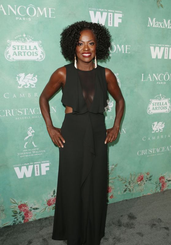 Viola Davis – 2018 Women in Film Pre-Oscar Cocktail Party in LA