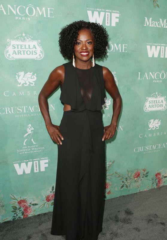 Viola Davis – 2018 Women in Film Pre-Oscar Cocktail Party in LA