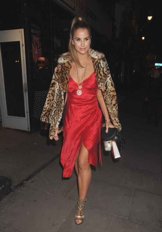 Vogue Williams - Folli Follie Event at White Space Gallery in London