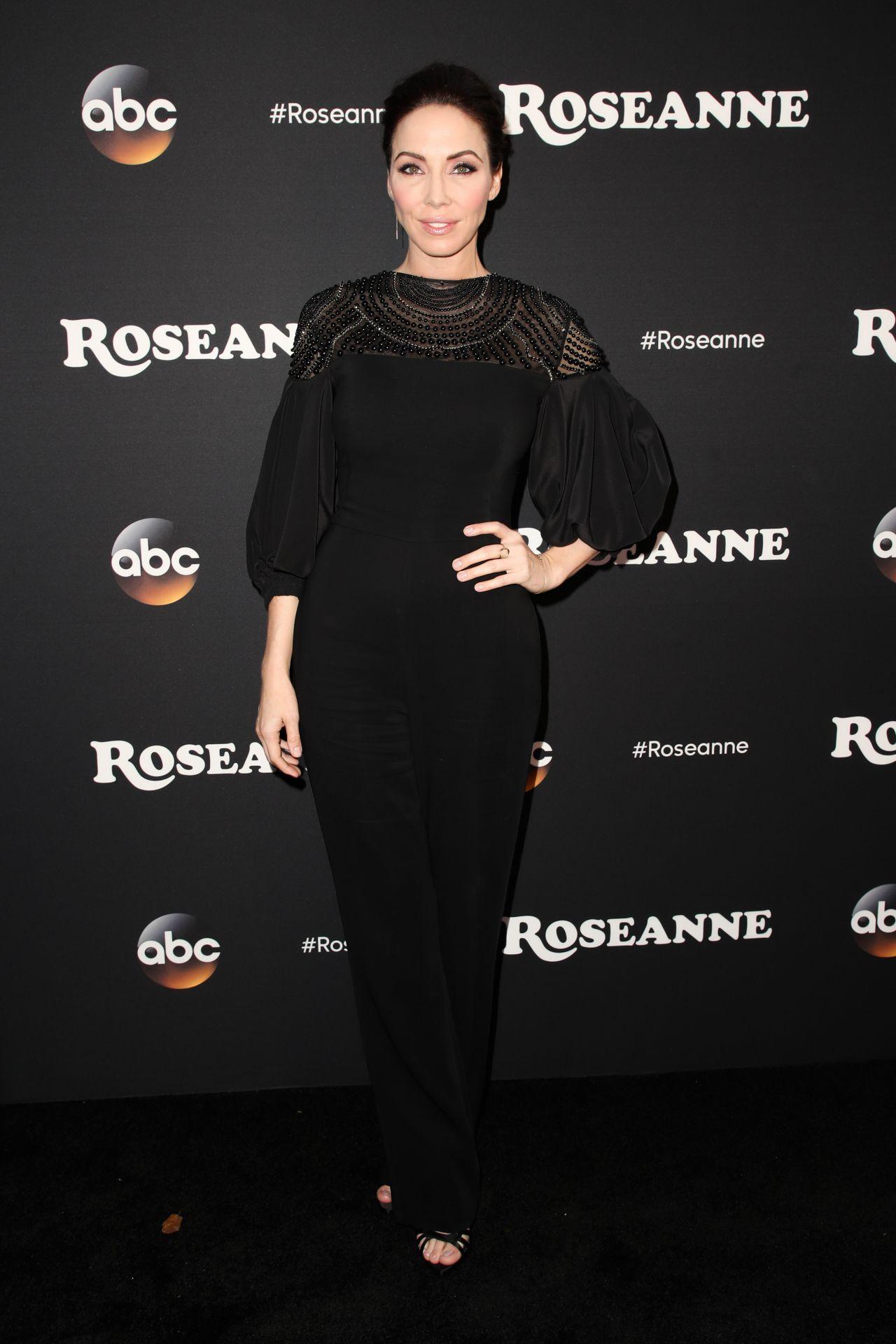 Whitney Cummings Roseanne Tv Show Premiere In La