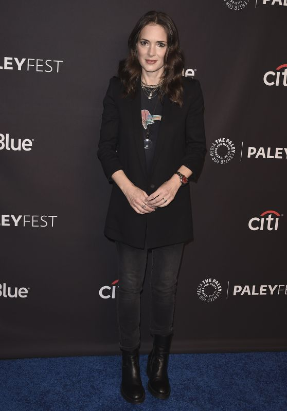 "Winona Ryder - ""Stranger Things"" Presentation at PaleyFest 2018"