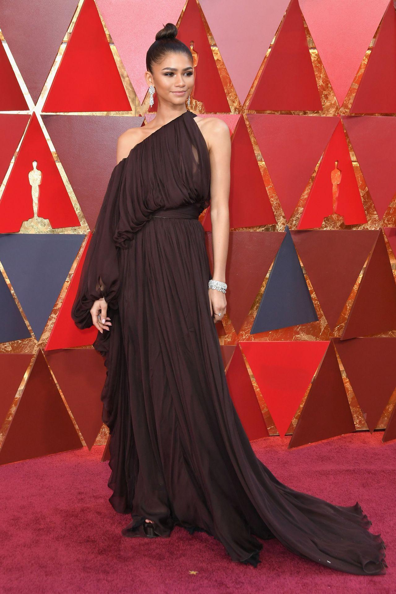 Zendaya Coleman Oscars 2018 Red Carpet