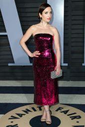 Zoe Lister-Jones – 2018 Vanity Fair Oscar Party in Beverly Hills