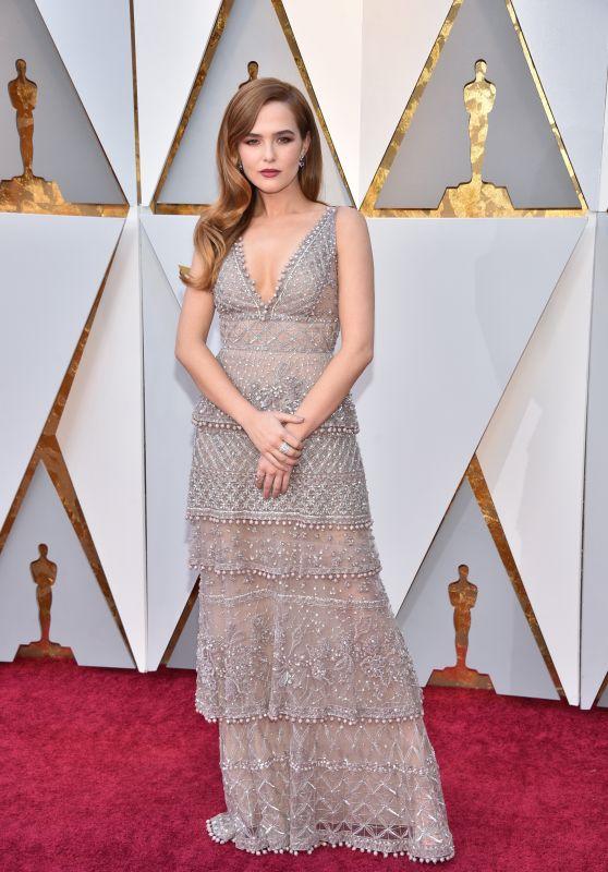 Zoey deutch oscars 2018 red carpet - Oscars red carpet online ...