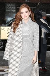 "Zoey Deutch - Outside of ""The Today Show"" in NYC 03/21/2018"