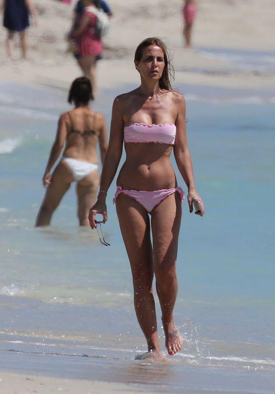 Adriana Fossa in Bikini - Miami, April 2018